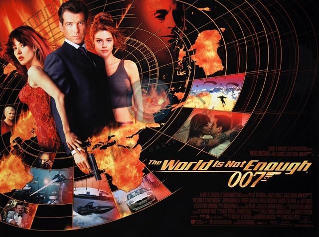 『007/ワールド・イズ・ノット・イナフ』のあらすじとキャスト