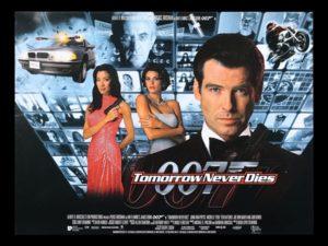 『007/トゥモロー・ネバー・ダイ』のあらすじとキャスト