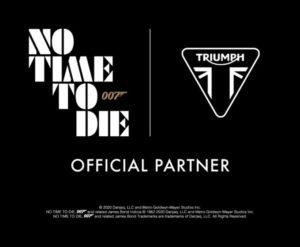 「トライアンフ」×「007」コラボ