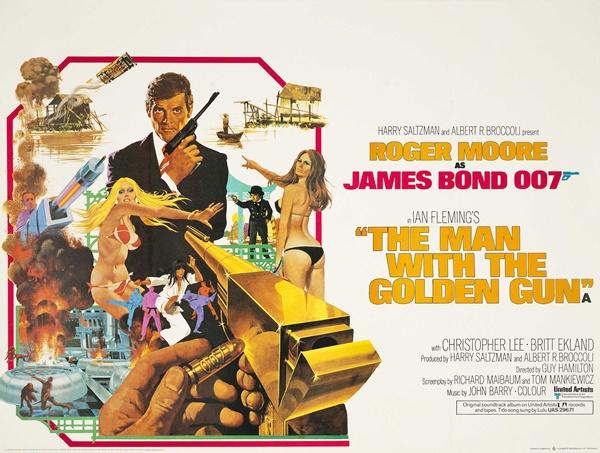 『007/黄金銃を持つ男』のあらすじとキャスト