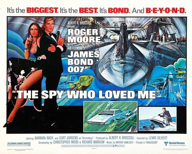 『007/私を愛したスパイ』のあらすじとキャスト