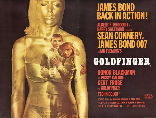 『007/ゴールドフィンガー』のあらすじとキャスト