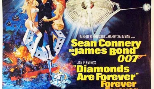 『007/ダイヤモンドは永遠に』のあらすじとキャストは?