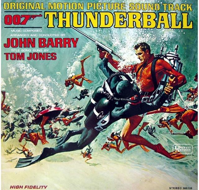 『007/サンダーボール作戦』のテーマ曲、主題歌は?