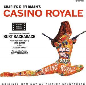 『007/カジノロワイヤル』(1967)のテーマ曲、主題歌は?